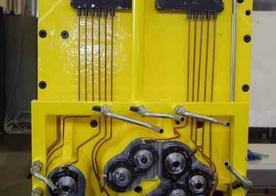 Testa multipla speciale di foratura a 11 fusi pressurizzati per unità rototraslante