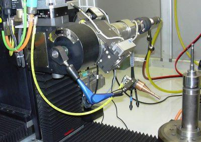 Tavola di posizionamento angolare ottica di saldatura laser